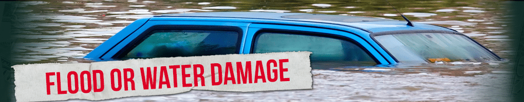 Sell water damaged cars for cash